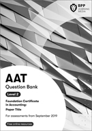 AAT (AQ2016) Level 2 Bookkeeping Controls Question Bank 2019