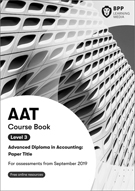 AAT (AQ2016) Level 3 Management Accounting: Costing Course Book 2019