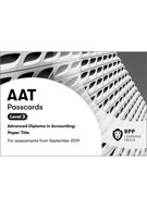 AAT (AQ2016) Level 3 Management Accounting: Costing Passcards 2019